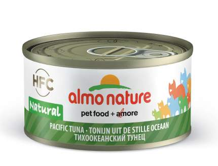 Консервы для кошек Almo Nature HFC Natural, тунец, 24шт, 70г