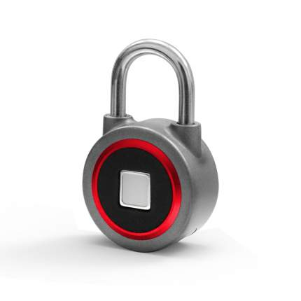 Умный замок Nokelock GLS Bluetooth+Fingerprint GLS-U-BT_F-Red