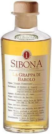 Граппа Sibona La Grappa di Barolo 0.5 л