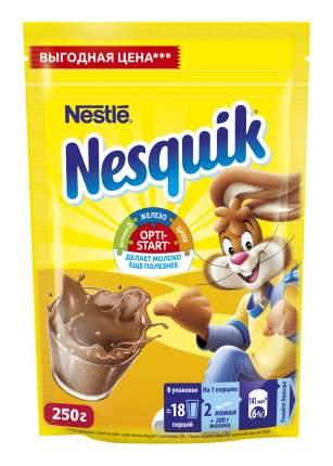 Какао-напиток Nesquik nestle opti-start быстрорастворимый в пакете 250 г
