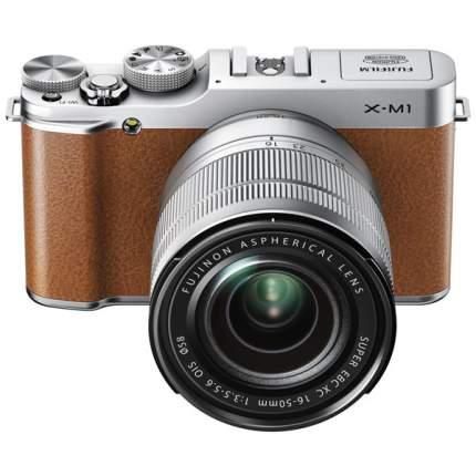 Фотоаппарат системный Fujifilm X-M1 Kit Brown