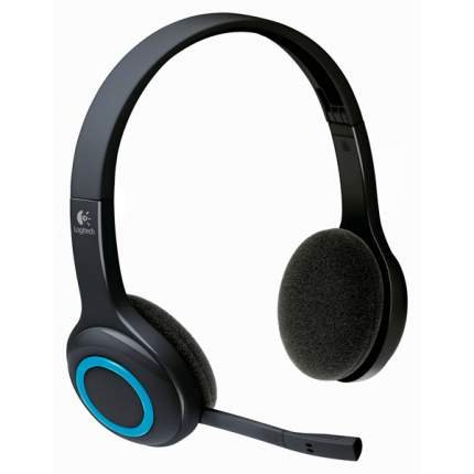 Игровые наушники Logitech Wireless H600 Black