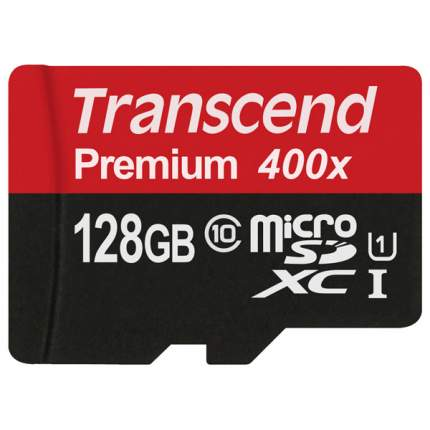 Карта памяти Transcend Micro SDXC TS128GUSDU1 128GB