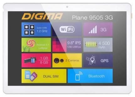 Планшет Digma Plane 9505 White (PS9034MG)