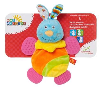 Мягкая игрушка Мир детства с пластиковыми элементами (фокусник зайка) волшебный цирк.