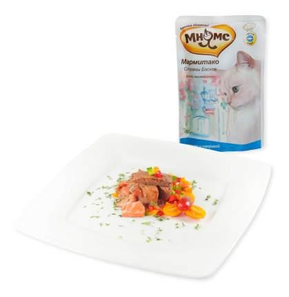Влажный корм для кошек Мнямс Мармитако Страны Басков, лосось, паприка, 85г