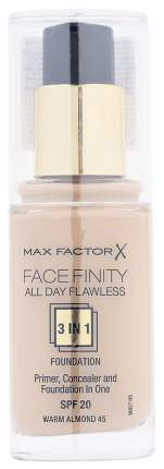 Тональный крем Max Factor Facefinity All Day Flawless 45 Warm Almond