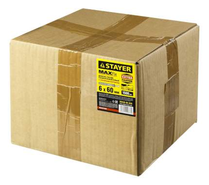 "Дюбель-гвоздь Stayer ""MASTER"" 30640-06-060 6 x 60 мм, 1500 шт"
