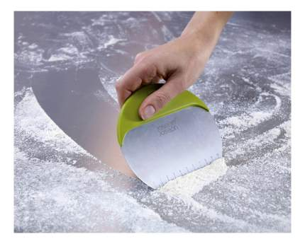 Нож+скребок для теста Duo bakeбелый/зеленый