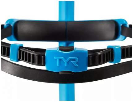 Трубка для плавания TYR Ultralight Snorkle Junior LSNRKLJR голубая (420)