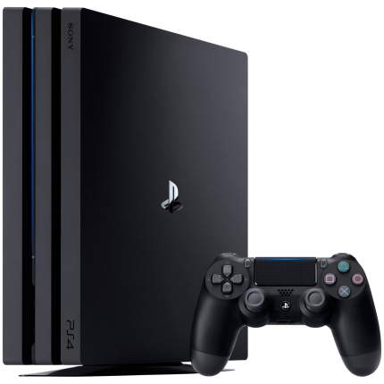 Игровая приставка Sony PlayStation 4 Pro 1Tb Черный + FIFA 18 + PS Plus 14 дней