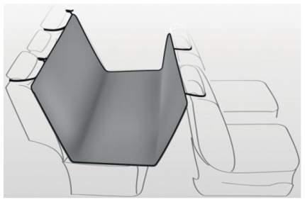 Автогамак для собак Trixie автомобильная подстилка 1313 1,45 Х 1,6 М (серый/черный)
