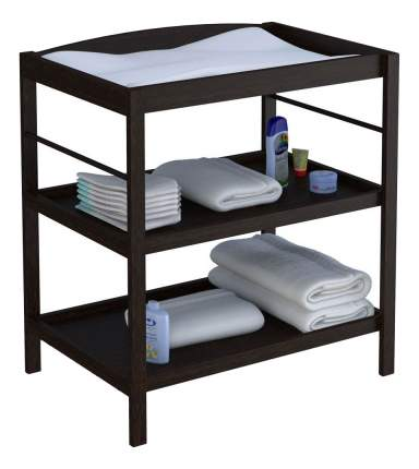 Пеленальный столик Simple 1080 венге Polini