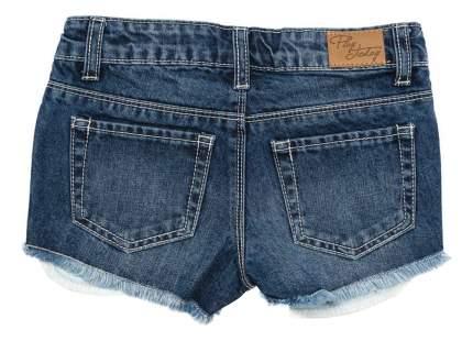 Шорты Play Today для девочки джинсовые укороченные индиго 122 размер