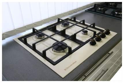 Встраиваемая варочная панель газовая Electronicsdeluxe TG4 750231F -023 Beige