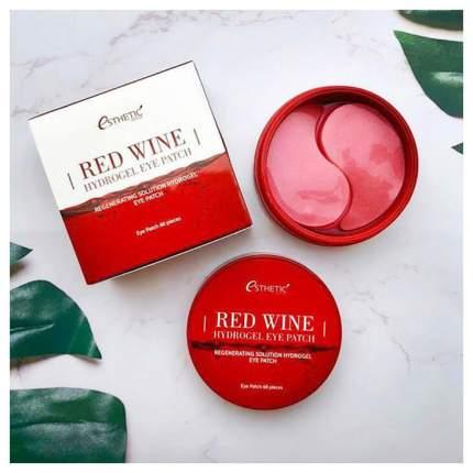 Патчи для глаз Esthetic House Red Wine Hydrogel Eye Patch 60 шт