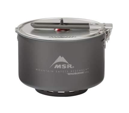 Туристическая кастрюля MSR Windburner Sauce Pot алюминиевая 2,5 л