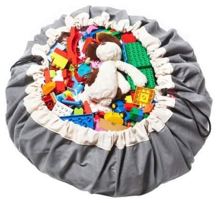 Мешок для хранения игрушек и игровой коврик 2в1 Play&Go Серый