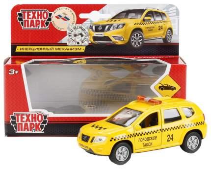 Инерционная машина Технопарк Nissan Terrano - Такси, 12 cм