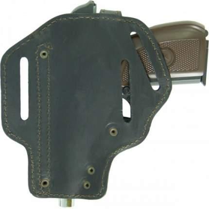 Кобура Tiger поясная Барс-2 для пистолета ПМ кожаная черная