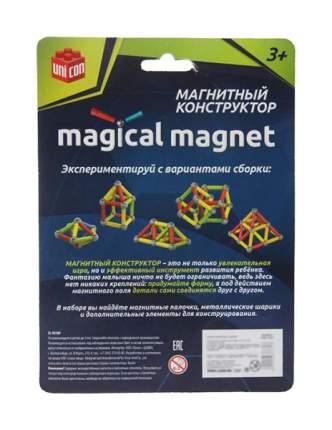 Конструктор магнитный «Звезда», 37 деталей Unicon