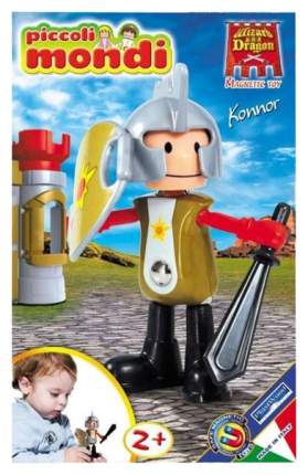 PLASTWOOD Магнитный конструктор Piccoli Mondi Wizard & Dragon, цвет: Konnor 0518