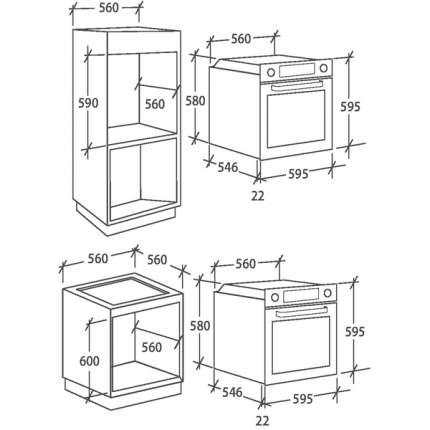 Встраиваемый электрический духовой шкаф Candy FCP502X/E1