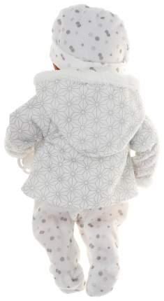 Пупс Arias Elegance в одежде розовых тонах с узором, 38 см, арт. Т16350