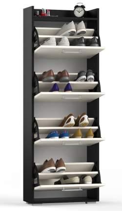 Обувница СВК XXL венге/дуб лоредо, 60х25х176,3 см.