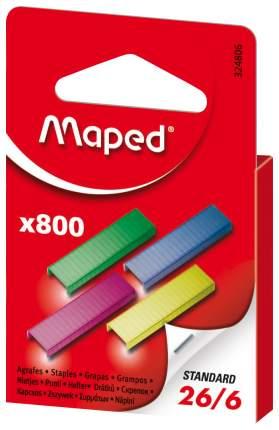Скобы для степлера Maped STANDARD 324806 Ассорти