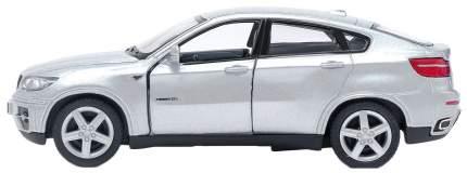 Машина металлическая BMW X6, масштаб 1:38, открываются двери, инерция Kinsmart