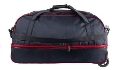 Дорожная сумка Verona Mainland черная/красная 74 x 48 x 40 см