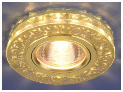 Встраиваемый точечный светильник Elektrostandard 6034 MR16 GD/CL a029894 Золото/Прозрачный