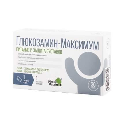 Глюкозамин максимум Natur Produkt таблетки 1470 мг 30 шт.