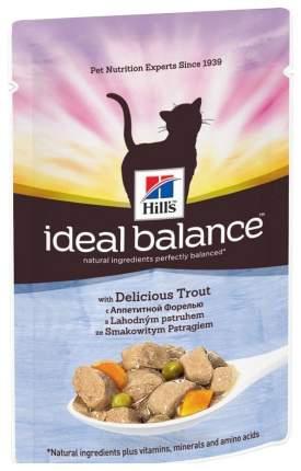 Влажный корм для кошек Hill's Ideal Balance, форель, 85г