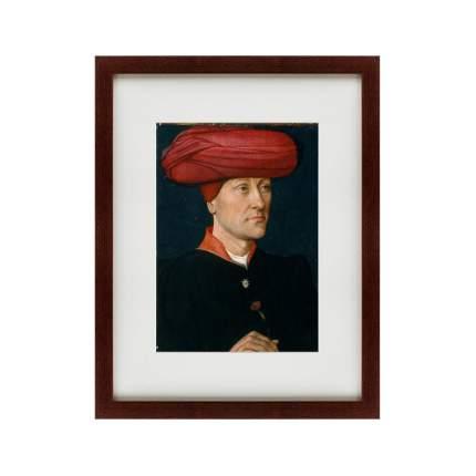 Картина Portrait of a Man in a Turban, second quarter 15th century, 47х60см
