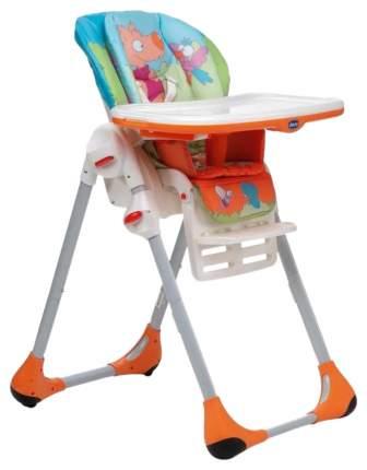 Столик для стульчика для кормления Chicco Polly 2в1 Оранжевый