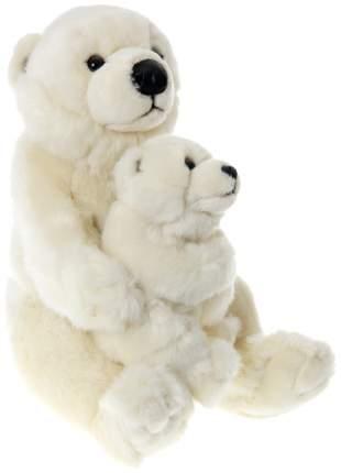 Мягкая игрушка WWF Медведь полярный с ребенком 15.187.024