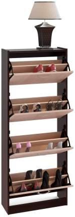 Шкаф для обуви Сокол ТО-24 Дуб беленый/Венге