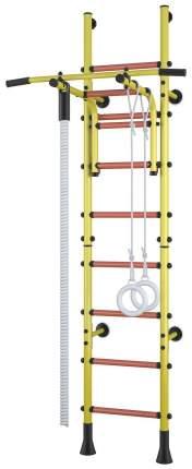 Детский спортивный комплекс Polini Sport Turbo Желтый пристенный