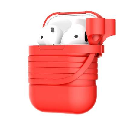 Чехол Baseus Silicone для AirPods Red