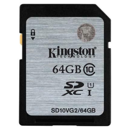 Карта памяти Kingston SDHC SD10VG2 64GB