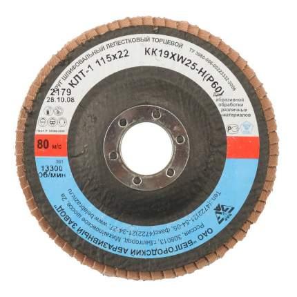 Диск лепестковый для угловых шлифмашин БАЗ 36563-115-60