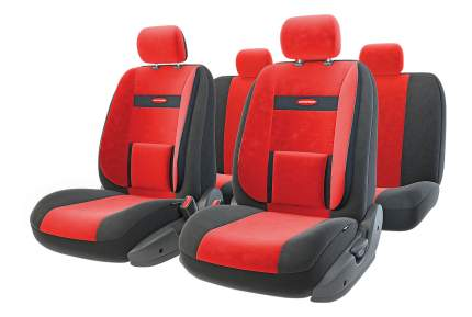 Комплект чехлов на сиденья Autoprofi Comfort COM-1105 BK/RD (M)
