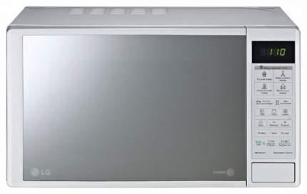 Микроволновая печь с грилем LG MB4043DAR silver/mirror
