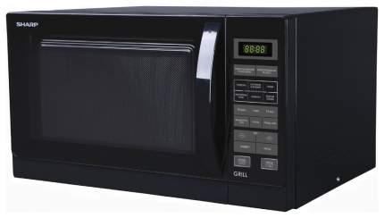 Микроволновая печь с грилем Sharp R-7773RSL black