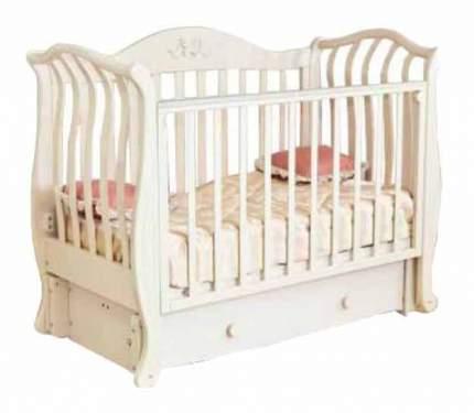 Детская кровать Можга Красная Звезда Юлиана С757 слоновая кость