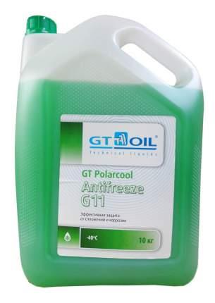 Антифриз GT OIL POLARCOOL G11 Зеленый Готовый антифриз 10кг