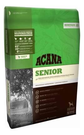 Сухой корм для собак ACANA Heritage Senior, для пожилых, цыпленок, индейка, 11,4кг
