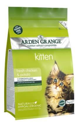 Сухой корм для котят Arden Grange Kitten беззерновой, курица, 2кг